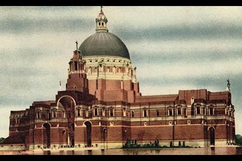 Liverpool Cathedral unbuilt